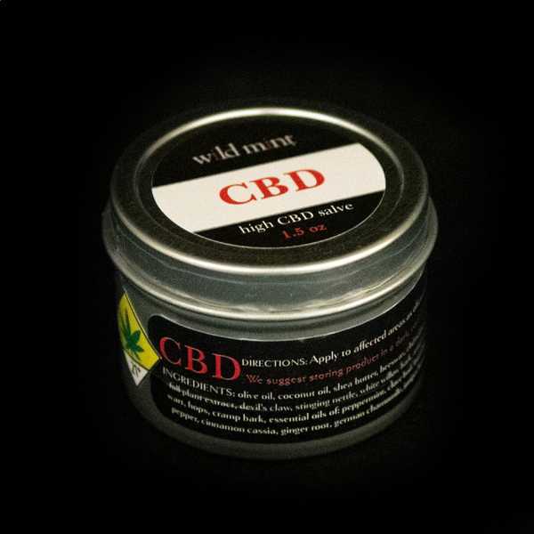 Wild mint cbd topical