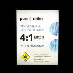 4:1 Transdermal Patch