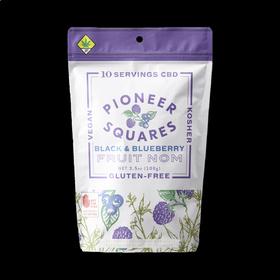CBD 10:1 Black & Blueberry Pioneer Squares