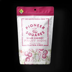 CBD 1:1 Sour Cherry Pioneer Squares