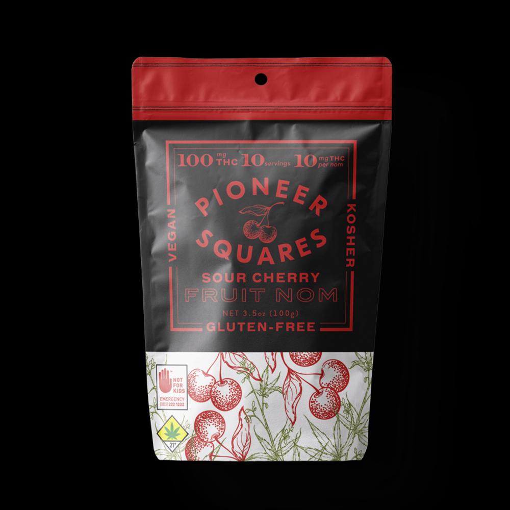Pioneer squares sour cherry