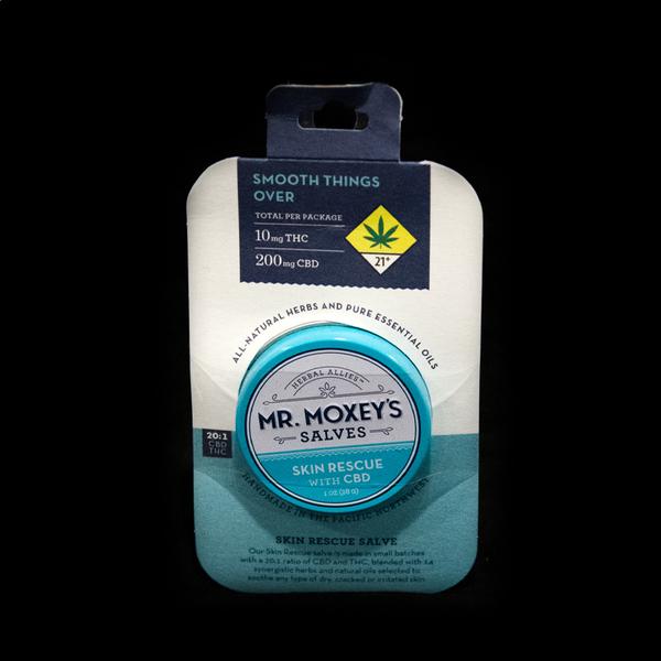Cbd 20 1 moxey skin rescue balm