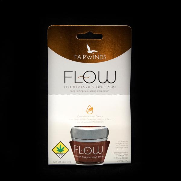 Trial size flow cream