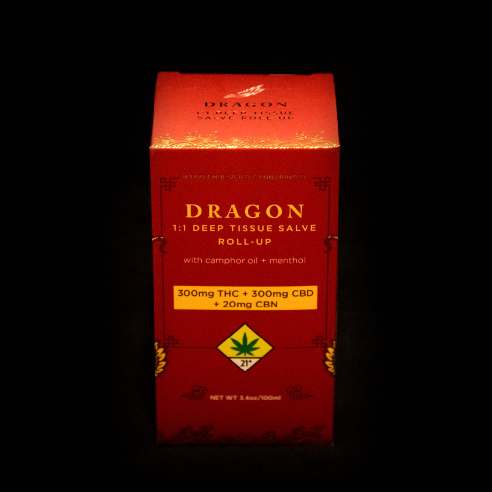 Cbd 1 1 dragon balm roll on