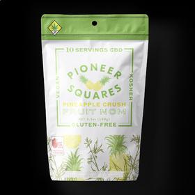 CBD 1:1 Pineapple Crush Pioneer Squares