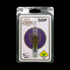 Granddaddy Purple Distillate Cartridge