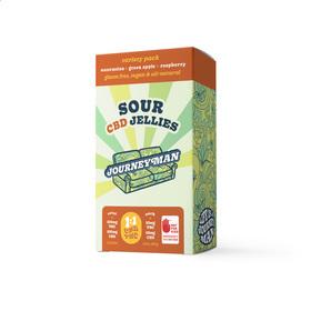 CBD 1:1 Sour Jellies Variety Pack