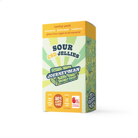 CBD 30:1 Sour Jellies Variety Pack
