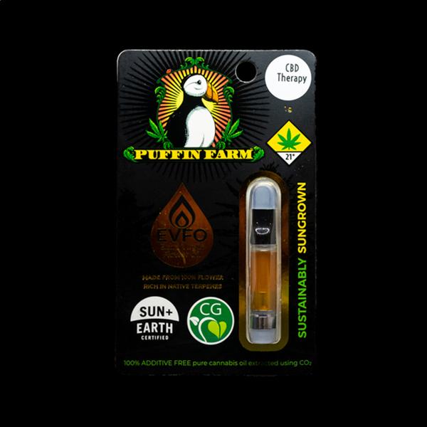 Cbd therapy 5 1 full spectrum cartridge  by puffin farm