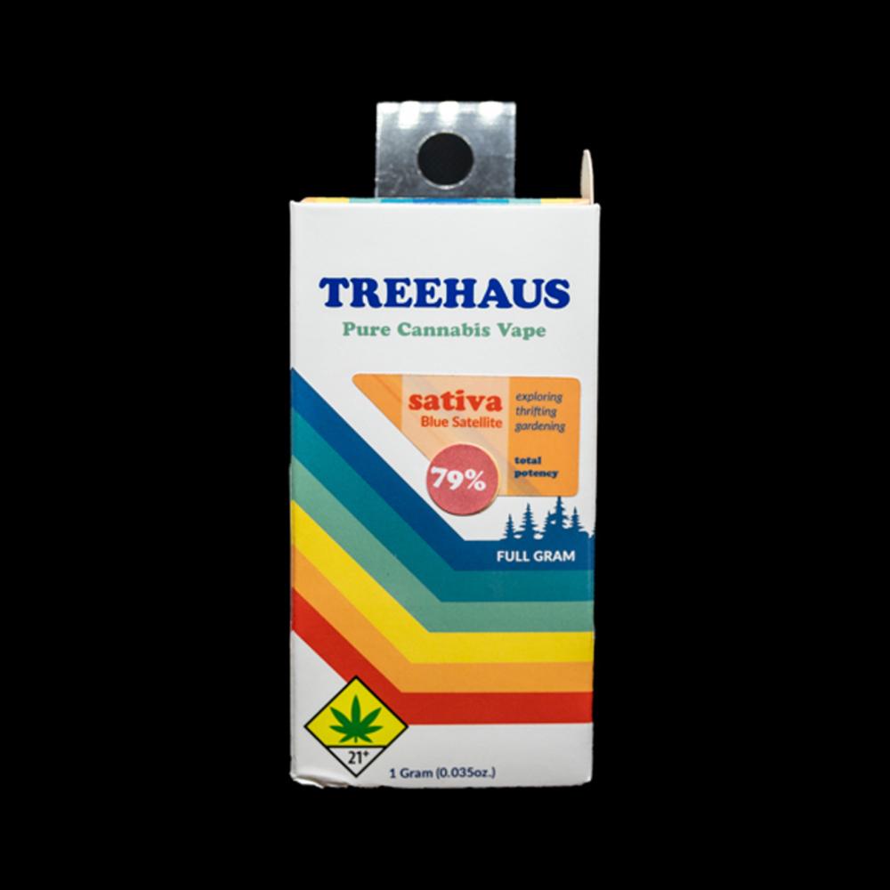 Blue satellite cartridge  by treehaus