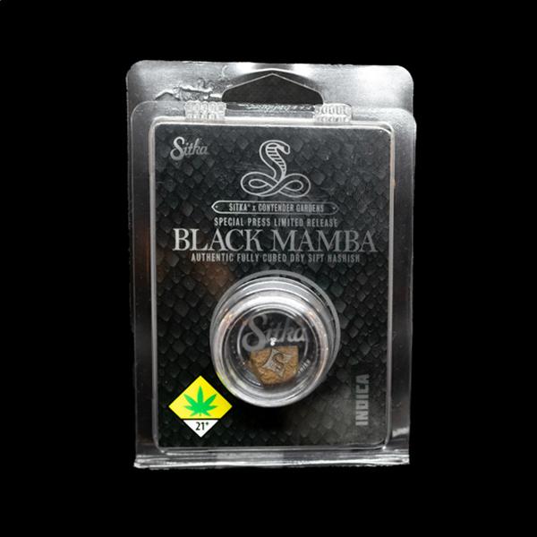 Black mamba hashish  by sitka