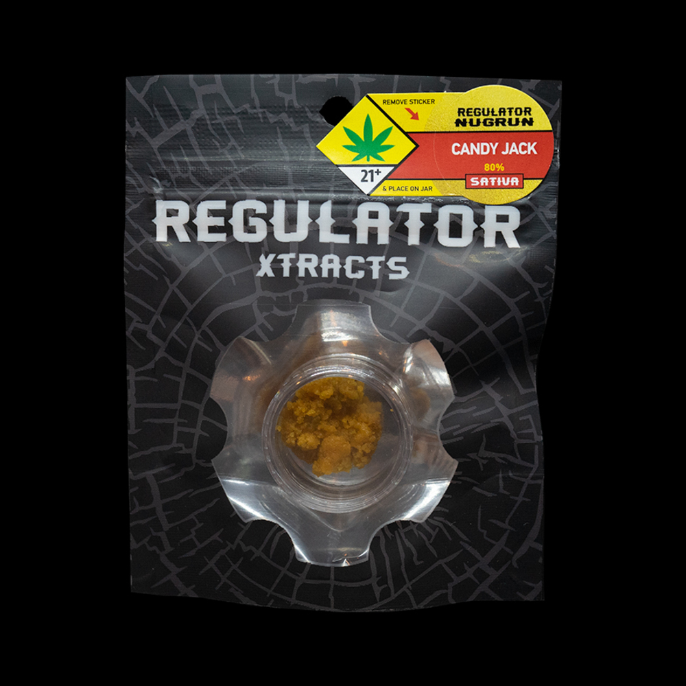 Candy jack regulator