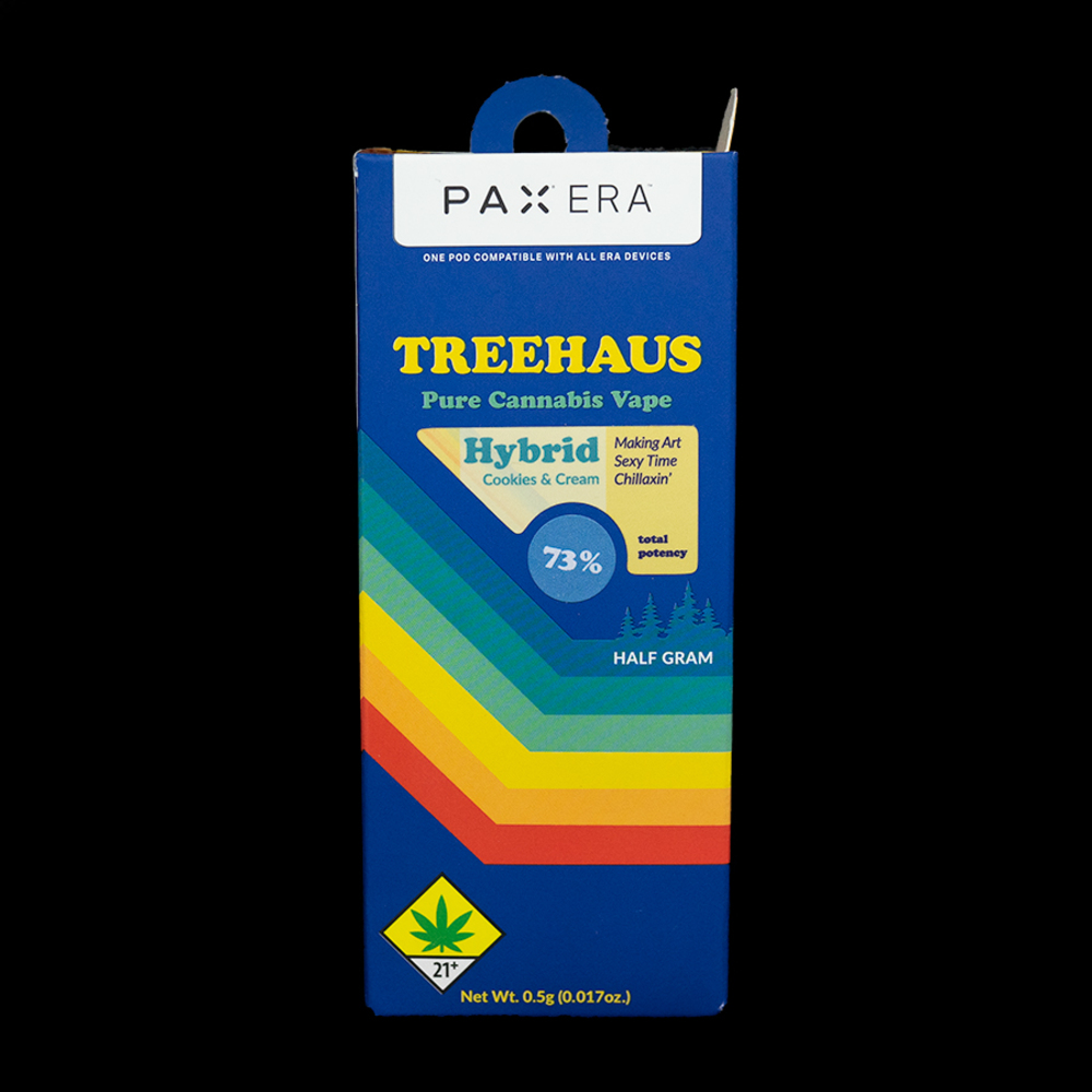 Cookies and cream treehaus pax