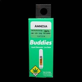 Amnesia Live Resin Cartridge