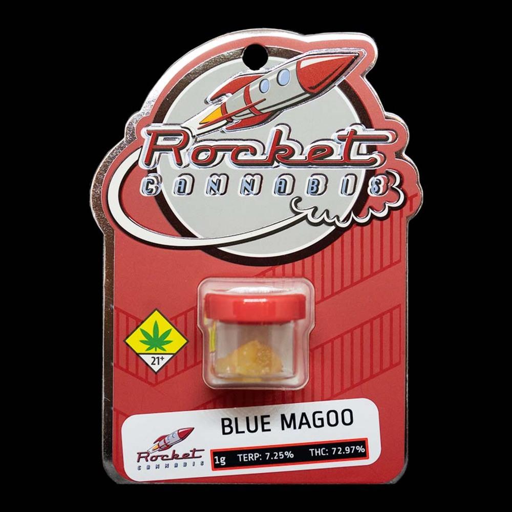 Rocket cannabis blue magoo dabs