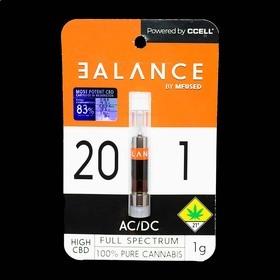 CBD 20:1 AC/DC Cartridge