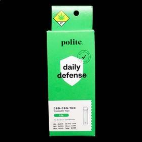 CBD 20:1 Daily Defense Disposable Vape