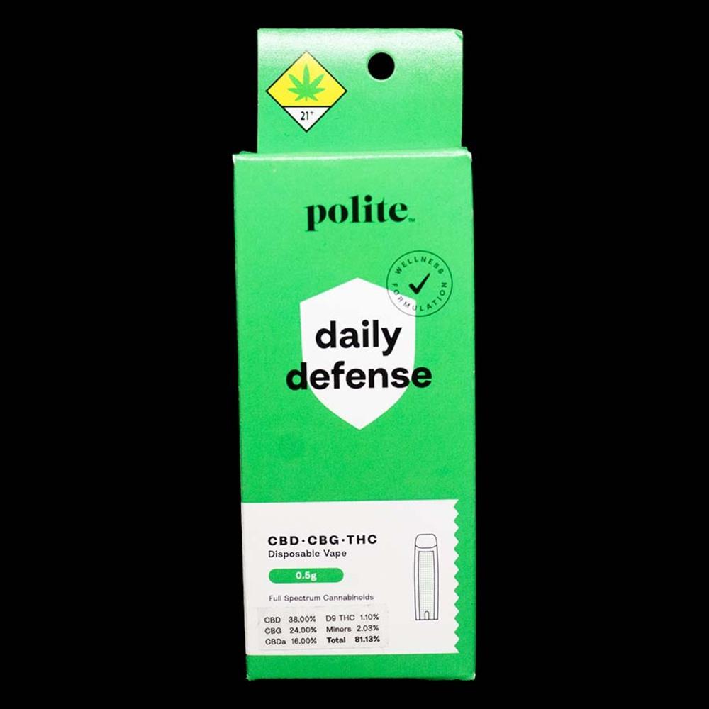 Polite daily defense