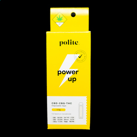 CBD 30:1 Power Up Disposable Vape