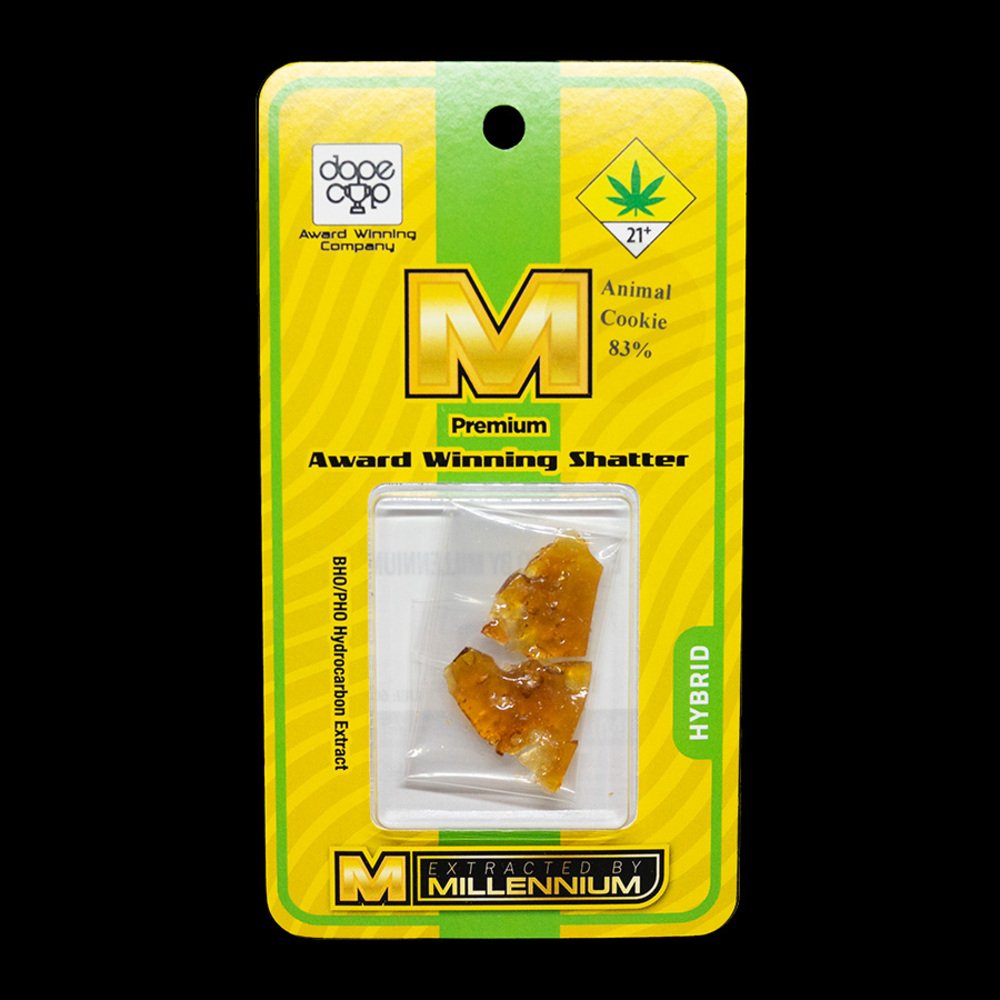 Millenium extracts animal cookie shatter